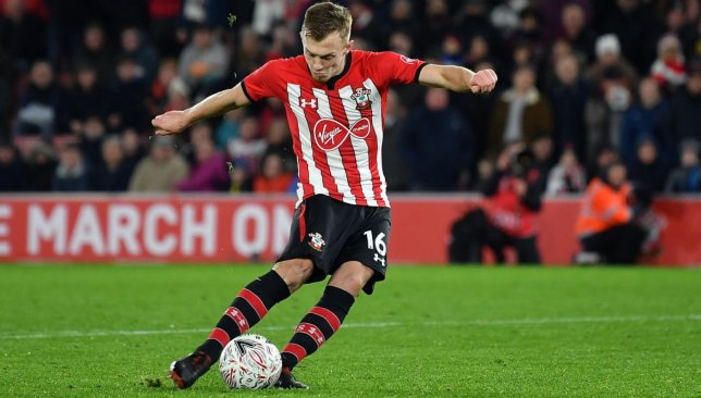 James Ward-Prowse is also an injury replacement in the squad.
