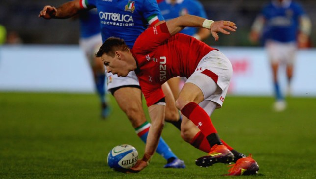 Liam Williams' run created the opening Welsh try for Josh Adams.