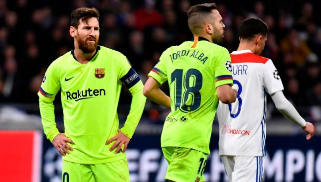 39d81258eab Barcelona player ratings as Lionel Messi lacks finishing touch in 0-0 at  Lyon