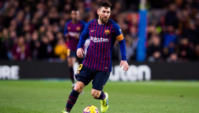 Messi emerged off the bench in the second half after Malcom had equalised for Barca.