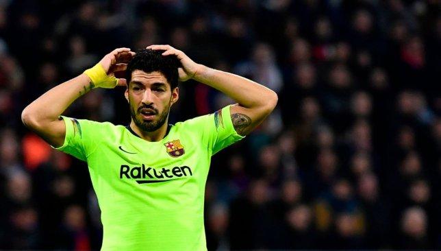 28e9f6d8bec Surgery means Barcelona s Luis Surez could miss Copa del Rey final and Copa  America