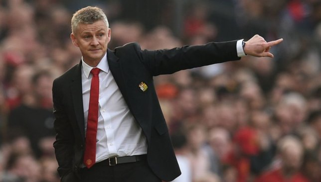 Moving in: Ole Gunnar Solskjaer.