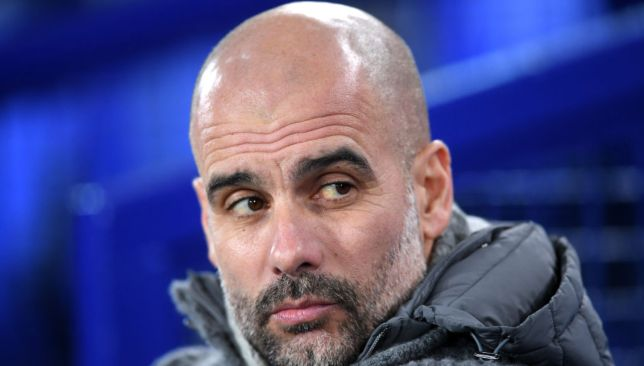 Guardiola admits the form of others has prevented Mahrez from seeing the pitch.