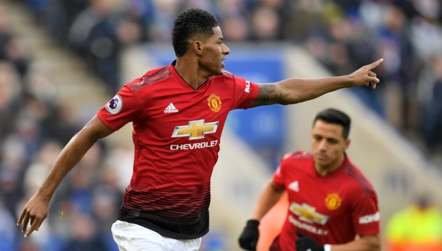 Rashford is in need of a rest and Lukaku is a doubt.