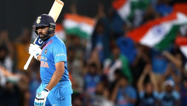 A new T20I milestone for Rohit Sharma.
