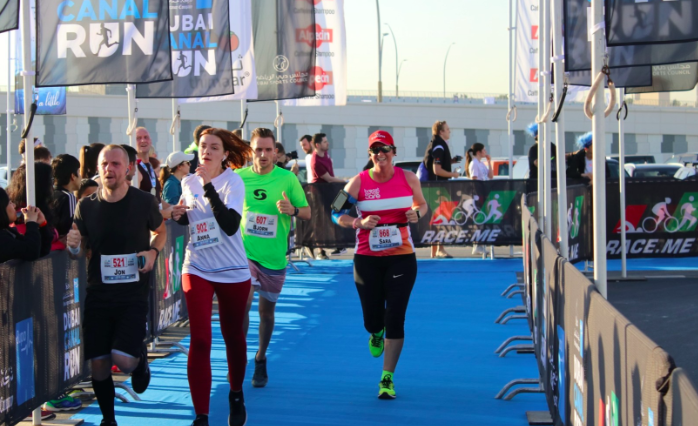 Finish line: Plans are in place for next year's run