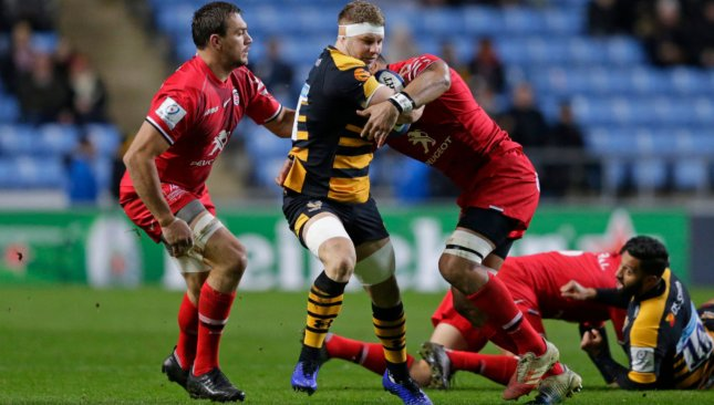 Thomas Young is shining in the Premiership with Wasps this season.