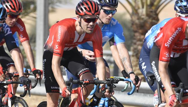 Tom Dumoulin finished 13th on Stage 3.
