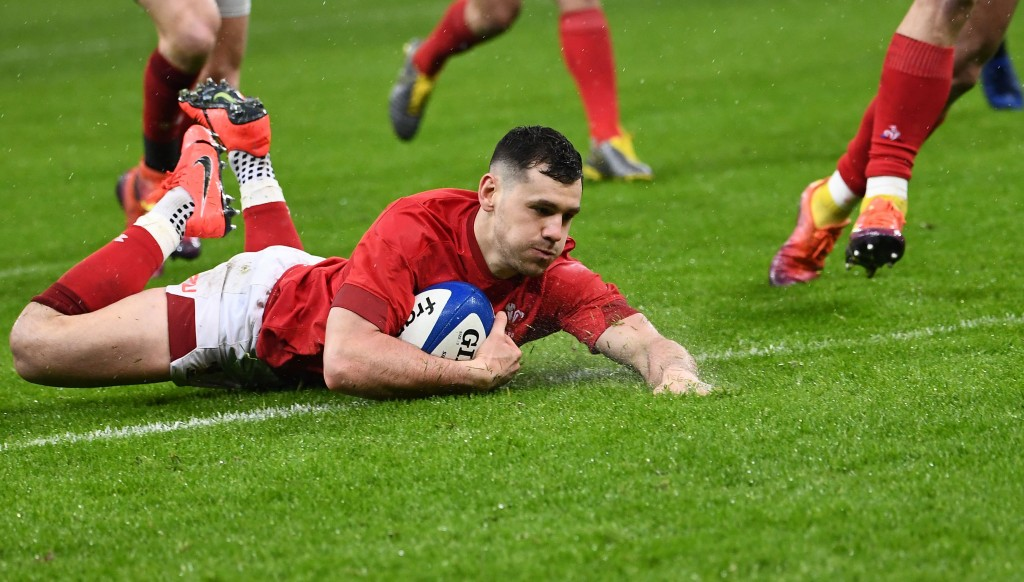 Tomos Williams got Wales back in the game with their first try.