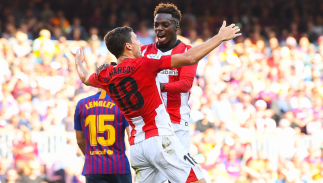 Athletic Bilbao hold Barcelona at San Mames