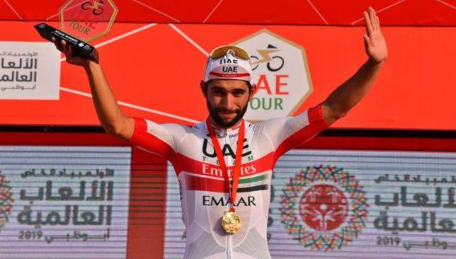 Fernando Gaviria won a stage at the UAE Tour recently.