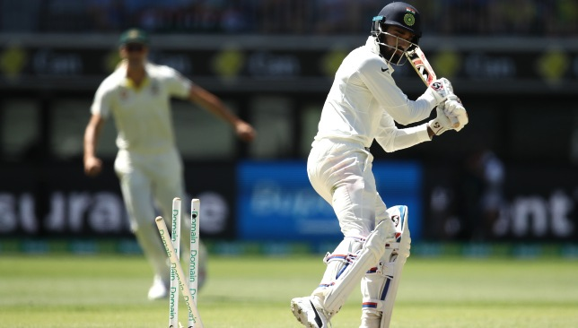 Rahul had a poor Test series against Australia recently.