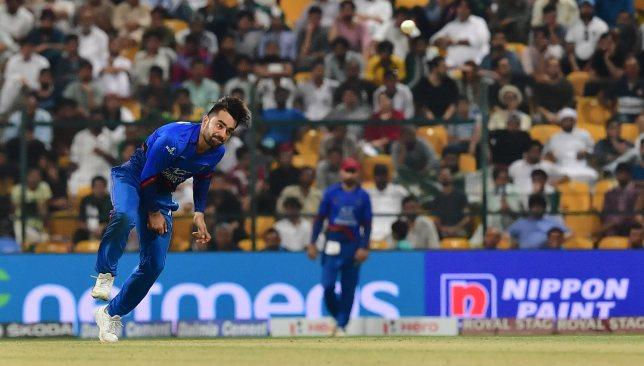 Two wickets for star leg-spinner Rashid Khan.