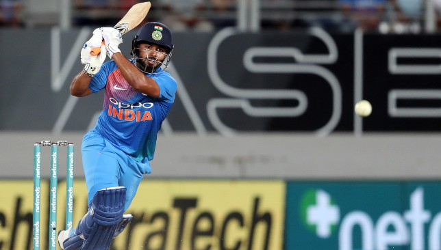 Rishabh Pant showed his class with the bat.