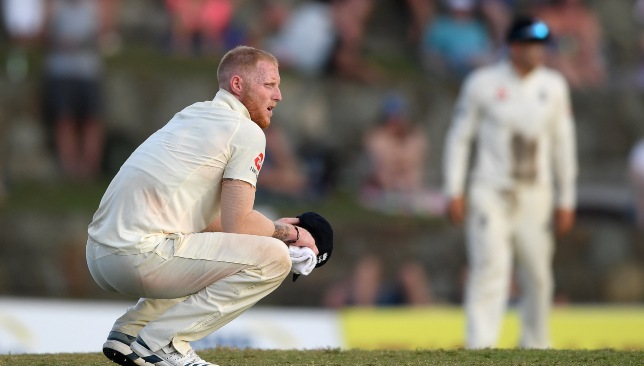 Stokes is a doubt for the third Test.