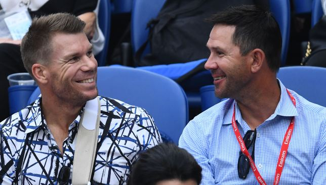 Ponting is banking on the return of Warner and Smith to bolster Australia.