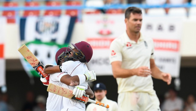 The Windies have outclassed England in both Tests so far.