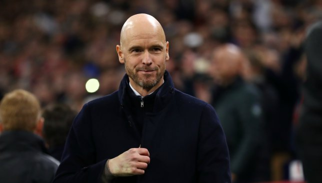 Ajax boss Erik ten Hag.