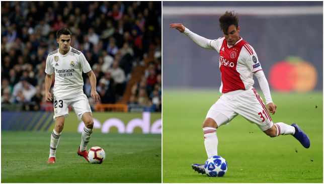 Reguilon's latest test: outshine Tagliafico, one of Europe's top-rated left-backs