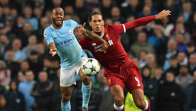 Raheem Sterling and Virgil van Dijk are in the top 10 nominees, with Van Dijk vying with Messi and Cristiano Ronaldo for the award.
