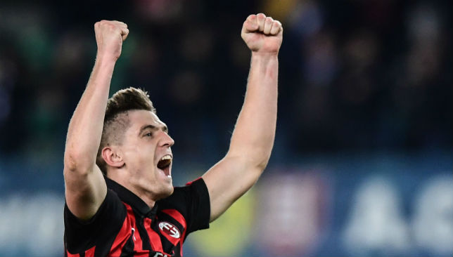 Krzysztof Piatek has become an instant star for AC Milan.
