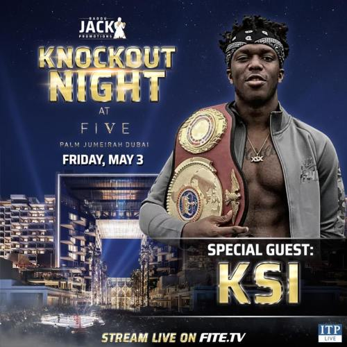 Special guest KSI