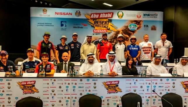 Abu Dhabi Desert Challenge presser