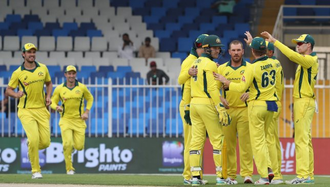 Australia have now won five ODIs on the bounce.