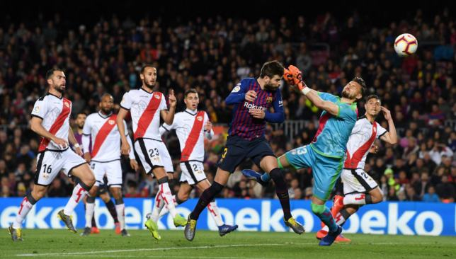 Pique heads home the equaliser