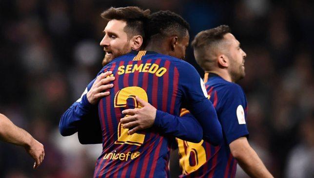 Semedo and Messi