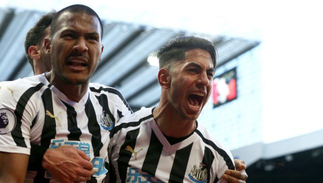 Ayoze Perez and Salomon Rondon