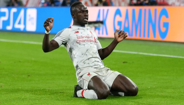 Sadio Mane continued his excellent from with a brace.
