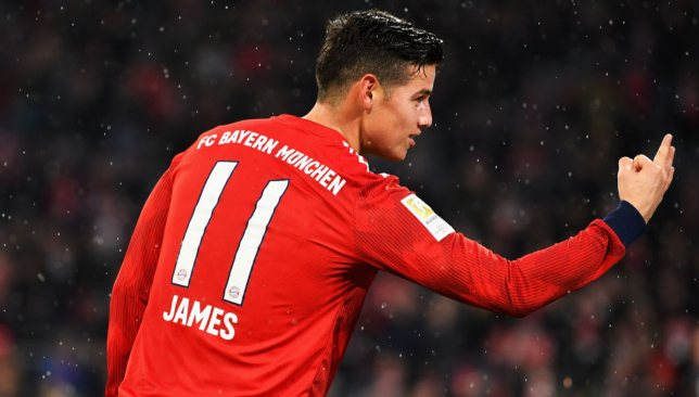 Bayern Munich star James Rodriguez