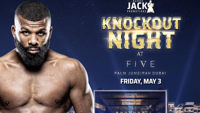 Badou Jack wants UAE world title fight as he hosts inaugural