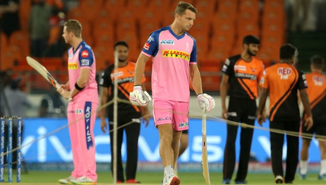 Buttler is the man for Rajasthan. Image - BCCI/SPORTZPICS.