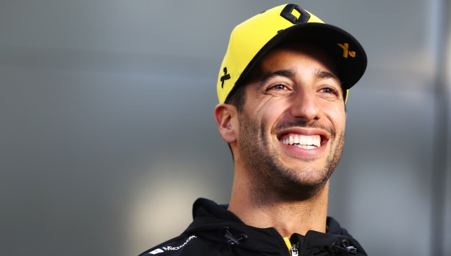 Home favourite: Daniel Ricciardo.