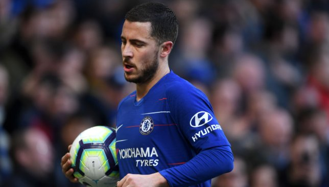 Eden Hazard will look to build on his sensational performance against West Ham