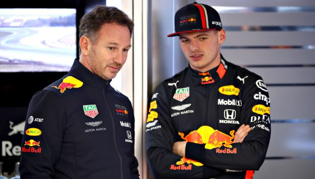 Verstappen was believed to have crossed the line a few times last year but Horner encourages his drivers to show emotion.