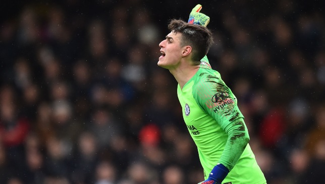 Kepa directed his defenders well.