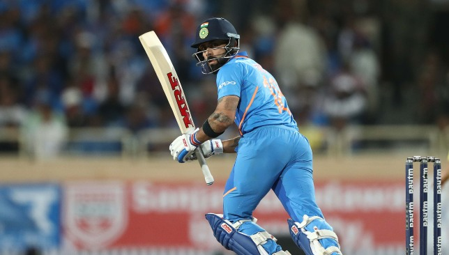 A masterful 123 (95) from Kohli on Friday.