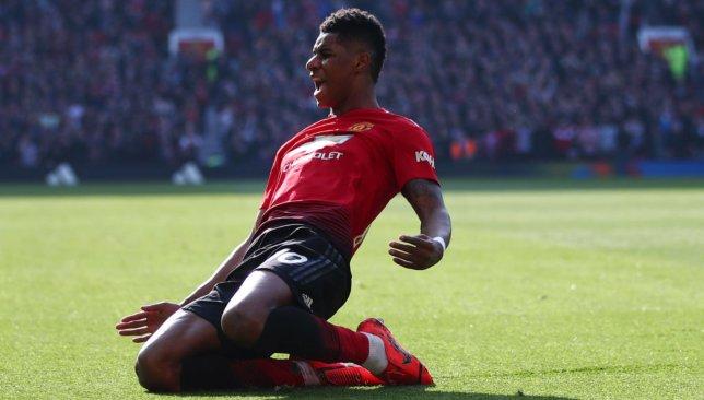Rashford put United ahead against the run of play.