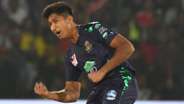 Mohammad Hasnain. Image: PSL/Twitter.