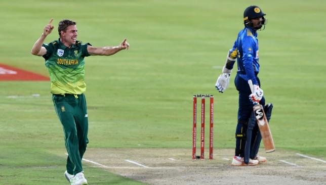 Nortje had a promising debut ODI series against Sri Lanka.