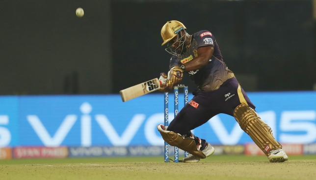 Andre Russell. Image: BCCI/SPORTZPICS.
