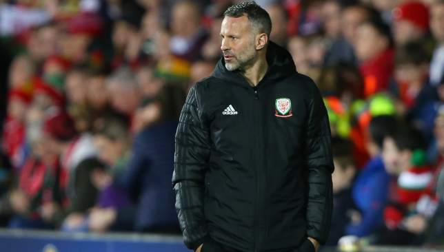 Giggs is preparing for the opening Euro 2020 qualifier against Slovakia on Sunday.