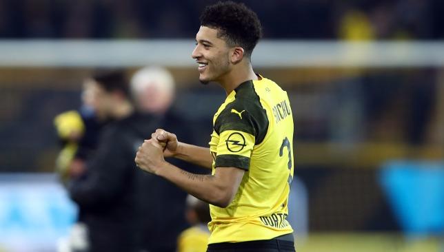 Jadon Sancho will be looking to inspire Dortmund
