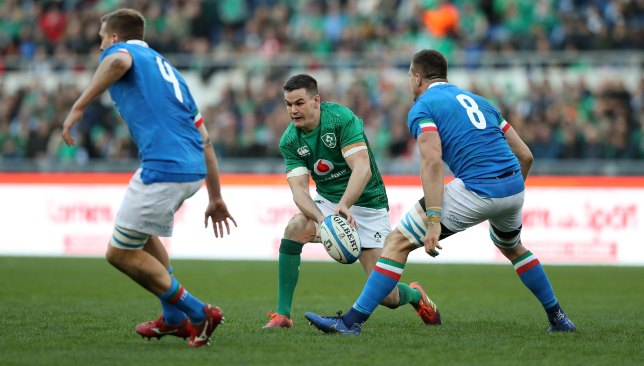Ireland prevailed 26-16 over the Italians.