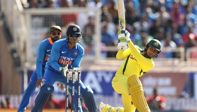 Khawaja struck his maiden ODI ton for Australia.