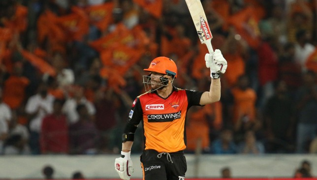 Warner is in red-hot form in the IPL. Image credit - BCCI/SPORTZPICS.