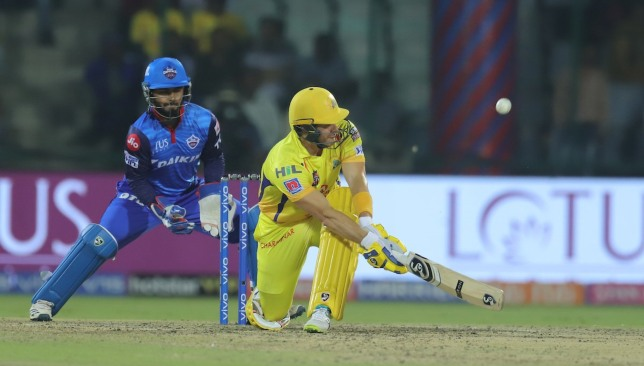 Watson was in his elements. Image credit - @IPL/Twitter.